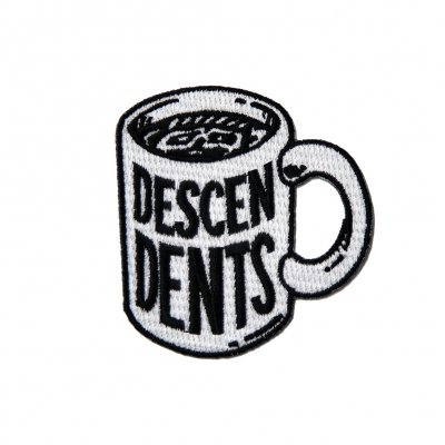 descendents - Coffee Mug Embroidered Patch