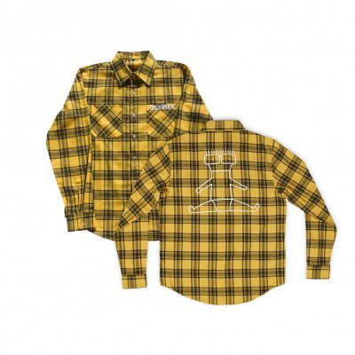 descendents - Ltd. I Don't Want To Grow Up Flannel (Yellow/Black