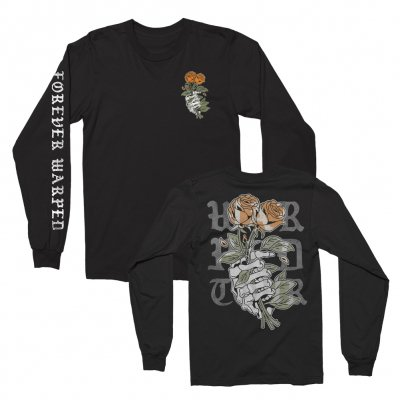 vans-warped-tour - Death-Grip Long Sleeve Tee (Black)