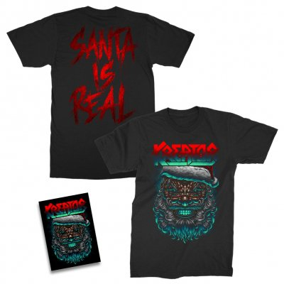 kreator - Santa Is Real T-Shirt + Holiday Card