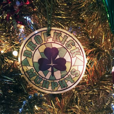 dropkick-murphys - Stained Glass Ornament