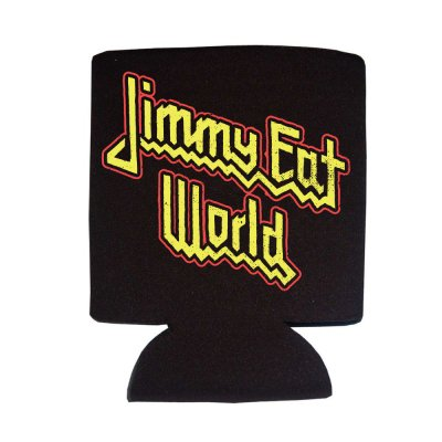 jimmy-eat-world - Priest Logo Coozie (Black)