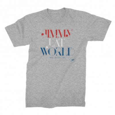 jimmy-eat-world - Swoop Tee (Heather Grey)