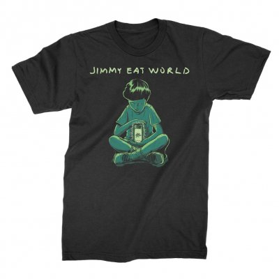jimmy-eat-world - Firefly Tee (Black)