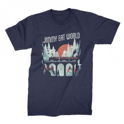 jimmy-eat-world - Train Tee (Navy)