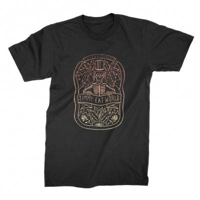 jimmy-eat-world - Jimmy Eat World Skeleton Tee (Black)