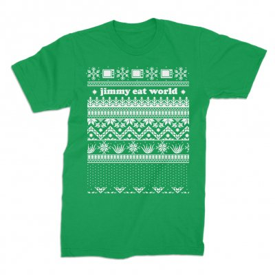 jimmy-eat-world - Christmas Tee (Green)