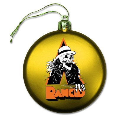 rancid - Skele-Tim Breakout Ornament (Yellow)