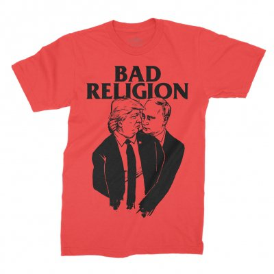 bad-religion - TrumPutin Tee (Red)