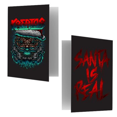 valhalla - Santa Is Real Holiday Card
