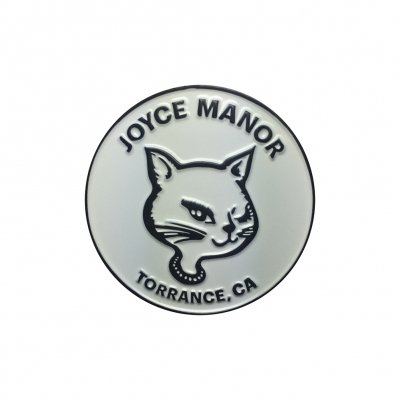 joyce-manor - Winking Cat Enamel Pin