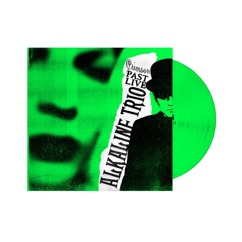 IMAGE | Crimson: Past Live LP (Green)