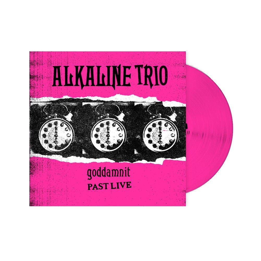 IMAGE   Goddamnit: Past Live LP (Pink)