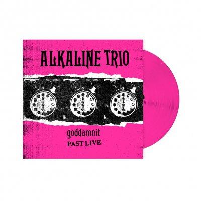 alkaline-trio - Goddamnit: Past Live LP (Pink)