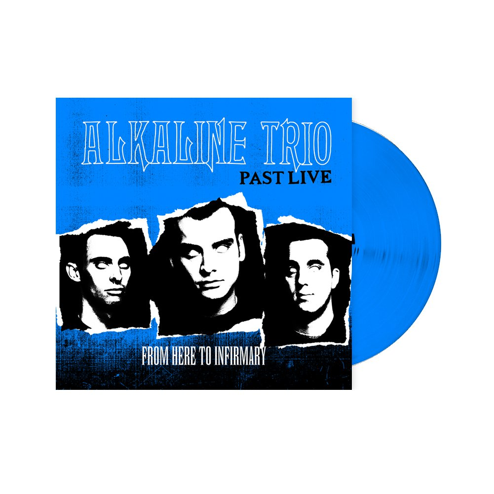 IMAGE | From Here To Infirmary: Past Live LP (Blue)