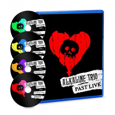 alkaline-trio - Past Live 4xBlu-ray