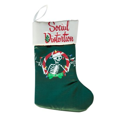 Christmas Skelly Stocking