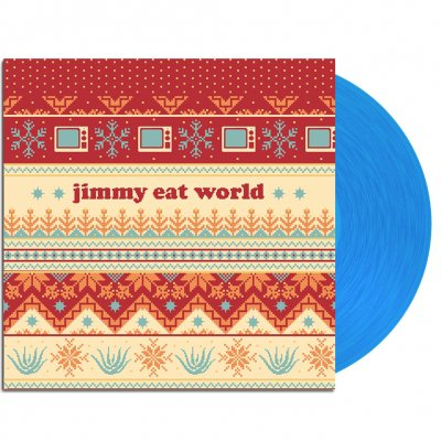 "jimmy-eat-world - Last Christmas 7"" (Blue)"