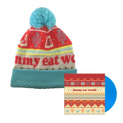 "jimmy-eat-world - Last Christmas 7"" + Beanie Bundle"