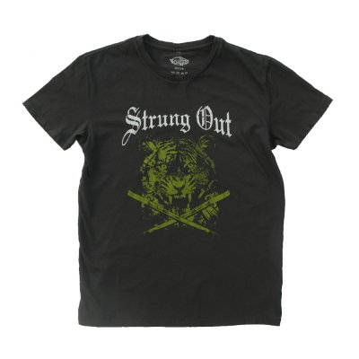 strung-out - Limited Edition Tiger Tee (Smoke)
