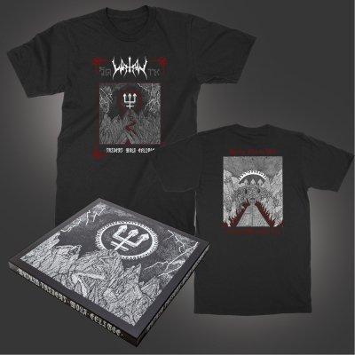 watain - Trident Wolf Eclipse Box Set + T-Shirt (Black) Bundle