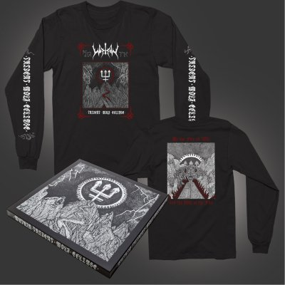 watain - Trident Wolf Eclipse Box Set + Long Sleeve T-Shirt (Black) Bundle