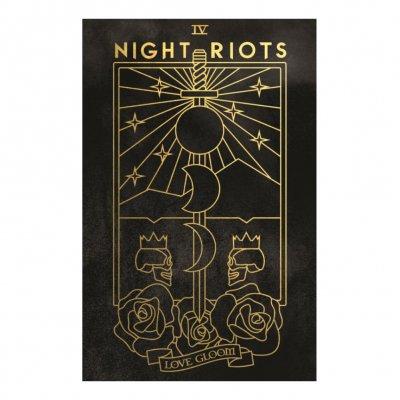 night-riots - Tarot Lithograph