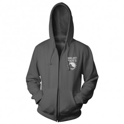 night-riots - Tarot Zip Up (Grey)