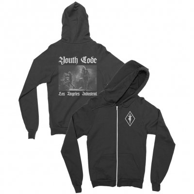 youth-code - Live Photo Zip Up (Black)