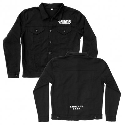 Endless Pain Custom Denim Jacket (Black)