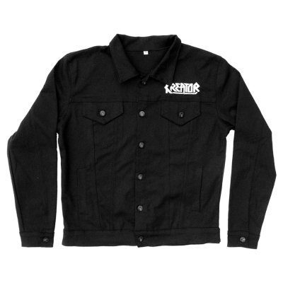 valhalla - Endless Pain Custom Denim Jacket (Black)