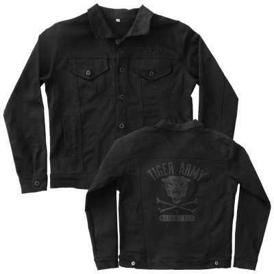 tiger-army - Tiger Army Custom Denim Jacket (Black)
