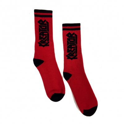 Kreator - Logo Socks (Red)