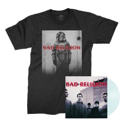 Bad Religion - Stranger Than Fiction Remastered LP (Clear) + Tee Bundle