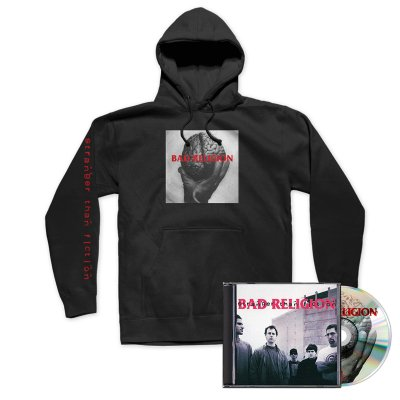Stranger Than Fiction CD (Remastered) + Hoodie Bundle