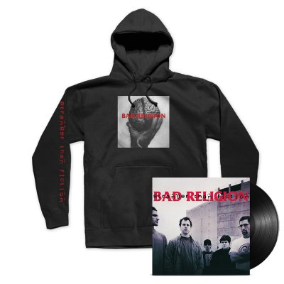 Stranger Than Fiction Remastered LP (Black) + Hoodie Bundle