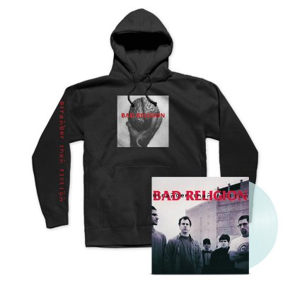 Bad Religion - Stranger Than Fiction Remastered LP (Clear) + Hoodie Bundle
