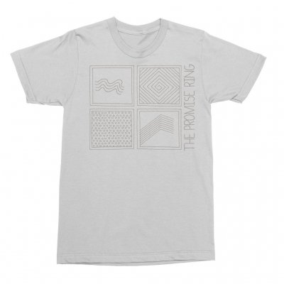 The Promise Ring - Grid Tee (Silver)