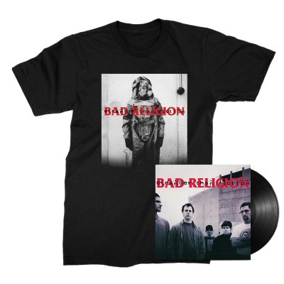 Stranger Than Fiction Remastered LP (Black) + Tee Bundle
