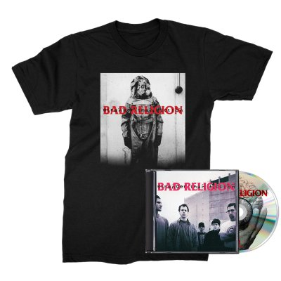 Bad Religion - Stranger Than Fiction CD (Remastered) + Tee Bundle
