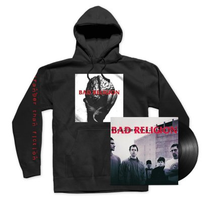 Bad Religion - Stranger Than Fiction Remastered LP (Black) + Tee Bundle