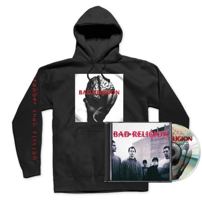 epitaph-records - Stranger Than Fiction CD (Remastered) + Hoodie Bundle