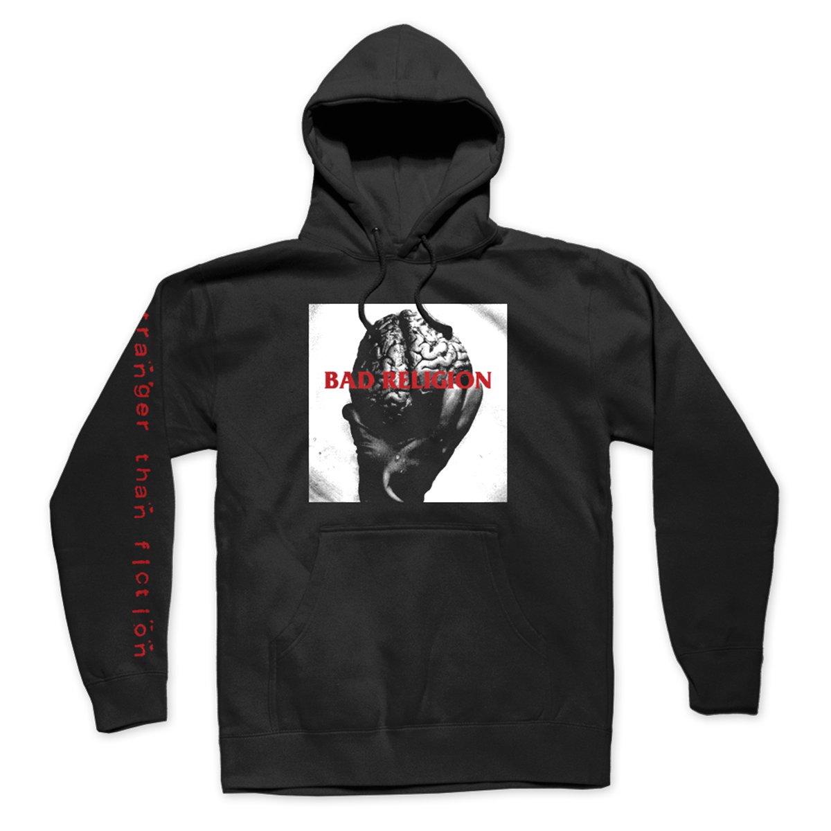 IMAGE | Brain Pullover Hoodie (Black)