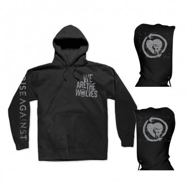 rise-against - We are the Wolves Pullover Hoodie (Black)