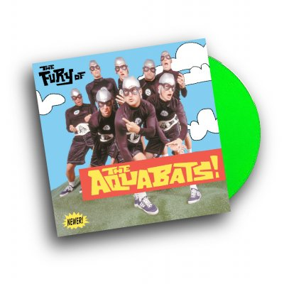 the-aquabats - The Fury Of The Aquabats Remastered LP (Green)