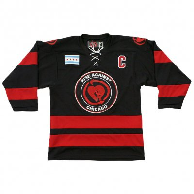 rise-against - Heartfist Throwback Edition Hockey Jersey