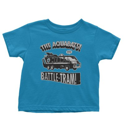the-aquabats - Battle-Tram Youth Tee (Sapphire)