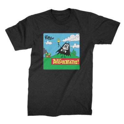 the-aquabats - Fury Bat '97 Tee (Black)