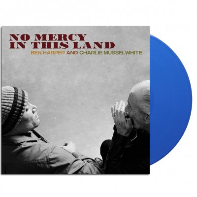 ben-harper-and-charlie-musselwhite - No Mercy In This Land LP (Blue)