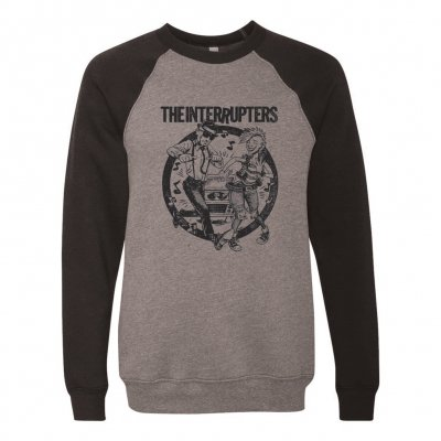 the-interrupters - Dancing Couple Crew Neck (Heather Grey/Black)
